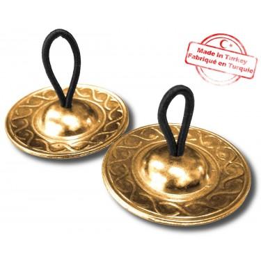 Crotales Turcs 48mm Brass