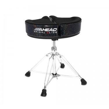 SPG-BS-4 Drum Throne Spinal-G Black Sparkle - 4 Legs Base