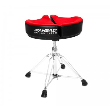 SPG-R-4 Drum Throne Spinal-G Red - 4 Legs Base