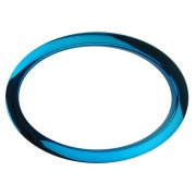 "HOB6 - 6"" Oval Blue Hole Reinforcement System"