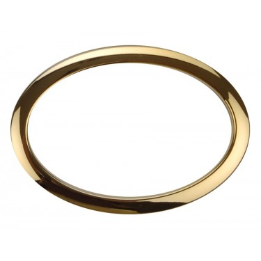 "HOBR6 - 6"" Oval Brass Hole Reinforcement System"
