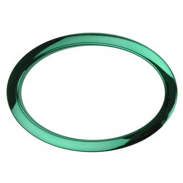 "HOG6 - 6"" Oval Green Hole Reinforcement System"
