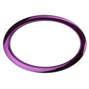"HOP6 - 6"" Oval Purple Hole Reinforcement System"