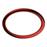 "HOR6 - 6"" Oval Red Hole Reinforcement System"