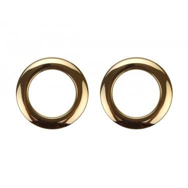 """HBR2 - 2"""" Brass (x2) Hole Reinforcement System"""