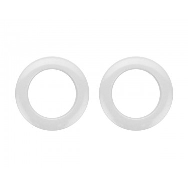 "HW2 - 2"" White (x2) Hole Reinforcement System"