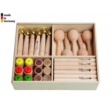 Kids Percussion Set - 41 Instruments - 1+