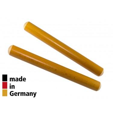Claves Beech 20x2cm Yellow - 1+