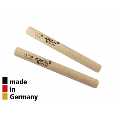 Claves Maple 15.5x1.6cm - Natural Finish - 1+