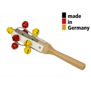 Jingle Maracas 25cm - Leather with 9 Bells - 3+