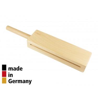 2-Tone Woodblock Beech 14.6cm with Handle - 3+