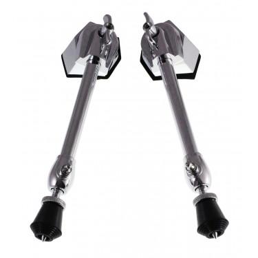 BDS4 - Adjustable Straight Bass Drum Spurs (x2)
