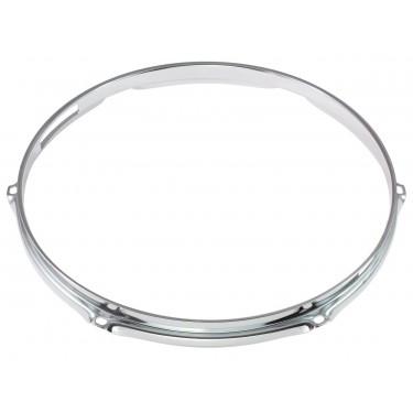 """H16-12-6S - 12"""" 6 Holes Snare Side 1.6mm Triple Flange Drum Hoop"""