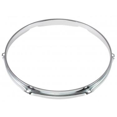 """H16-13-6 - 13"""" 6 Holes 1.6mm Triple Flange Drum Hoop"""