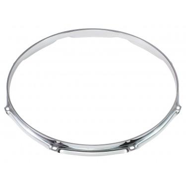 """H16-16-8 - 16"""" 8 Holes 1.6mm Triple Flange Drum Hoop"""