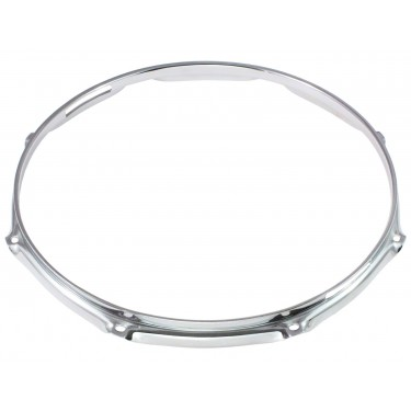 "H23-12-8S - 12"" 8 Holes Snare Side 2.3mm Super Triple Flange Drum Hoop"