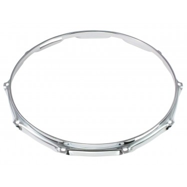 "H23-14-10S - 14"" 10 Holes Snare Side 2.3mm Super Triple Flange Drum Hoop"