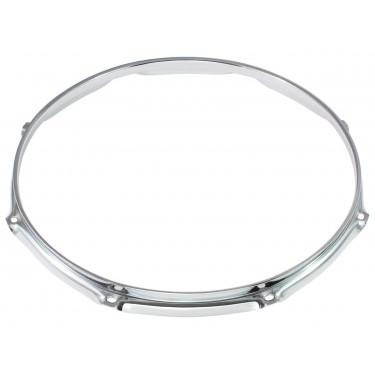"""H23-16-8 - 16"""" 8 Holes 2.3mm Super Triple Flange Drum Hoop"""