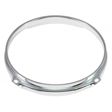 """H23-6-4 - 6"""" 4 Holes 2.3mm Super Triple Flange Drum Hoop"""