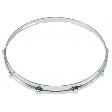 "HDC3-14-10S - 14"" 10 Holes Snare Side 3mm Die Cast Drum Hoop"