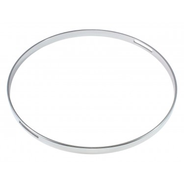 "HNF45-12S - 12"" Snare Side 4.5mm Straight / No Flange Drum Hoop"