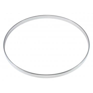 """HNF45-8 - 8"""" 4.5mm Straight / No Flange Drum Hoop"""
