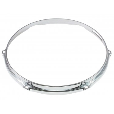"HS23-10-6S - 10"" 6 Holes Snare Side 2.3mm S-Style Triple Flange Drum Hoop"