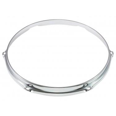 """HS23-12-6 - 12"""" 6 Holes 2.3mm S-Style Triple Flange Drum Hoop"""