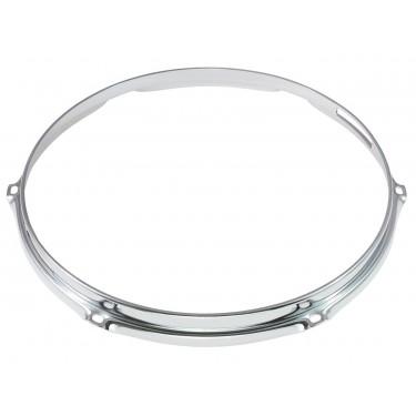 "HS23-12-6S - 12"" 6 Holes Snare Side 2.3mm S-Style Triple Flange Drum Hoop"