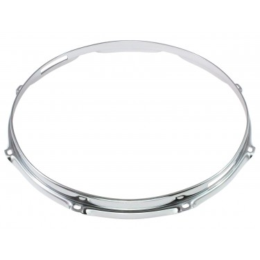 "HS23-12-8S - 12"" 8 Holes Snare Side 2.3mm S-Style Triple Flange Drum Hoop"