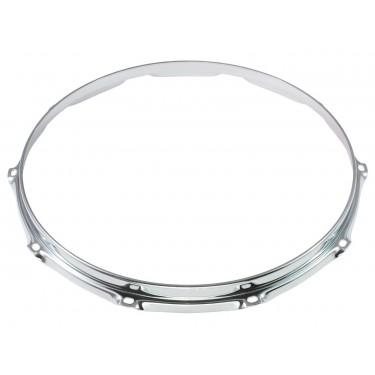 """HS23-14-10 - 14"""" 10 Holes 2.3mm S-Style Triple Flange Drum Hoop"""
