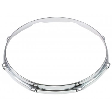 "HS23-18-8 - 18"" 8 Holes 2.3mm S-Style Triple Flange Drum Hoop"