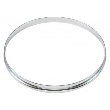 """HSF23-16 - 16"""" 2.3mm Single Flange Drum Hoop"""