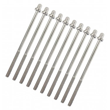 """TRC-115W - 115mm Tension Rod with washer - 7/32"""" Thread (x10)"""