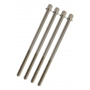 """TRSS-110 - 110mm Tension Rod - Stainless Steel - 7/32"""" Thread (x4)"""