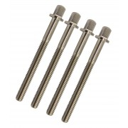 """TRSS-59 - 59mm Tension Rod - Stainless Steel - 7/32"""" Thread (x4)"""