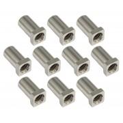 SN-SQ-15S - Swivel Nut 15mm Square Head - Steel (x10)