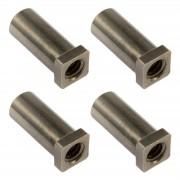 SN-SQ-20B - Swivel Nut 20mm Square Head - Brass (x4)