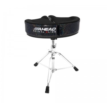SPG-BS-3 Drum Throne Spinal-G Black Sparkle - 3 Leg Base
