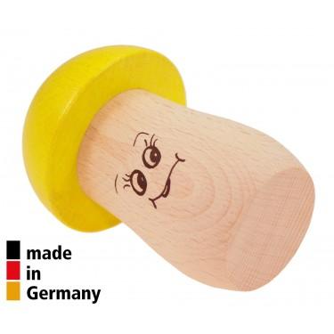 Mushroom Shaker Yellow - High Pitch - 1+
