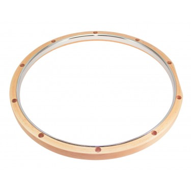 "RMWH1014 14"" Hybrid Hoop 10 Holes Maple - Steel"