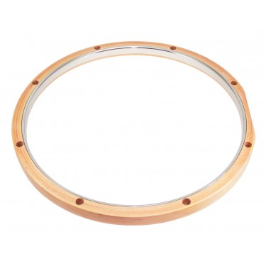 "RMWH814 14"" Hybrid Hoop 8 Holes Maple - Steel"