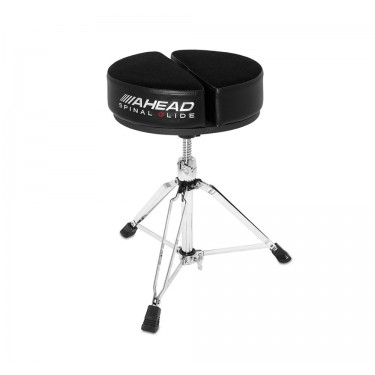 SPG-ARTB Round Drum Throne Spinal-G Black - 3 Leg Base
