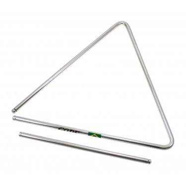 TRI32 - Triangle 32cm Acier Chromé