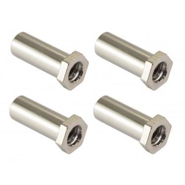 SN-HE-20B - Swivel Nut 20mm Hex Head - Brass (x4)
