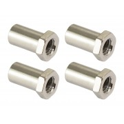SN-HE-15B - Swivel Nut 15mm Hex Head - Brass (x4)