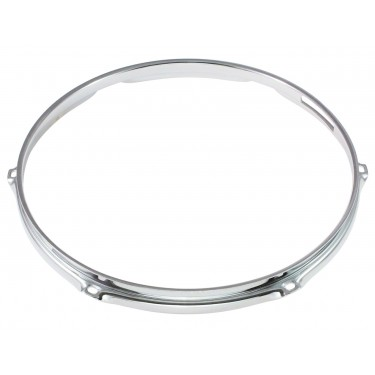 "H23-14-6S - 14"" 6 Holes Snare Side 2.3mm Super Triple Flange Drum Hoop"