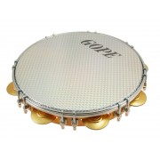"PA11D8HOL-WH - 11"" Pandeiro Double Lugs White Holographic Head"