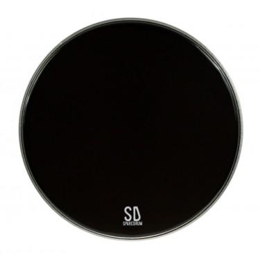 "PK24DB-B - 24"" Powerkick Dark Black BD Head - 1-ply + muffler - 10 mil"