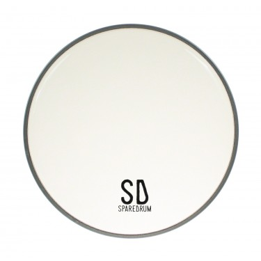"""FO12CL - 12"""" Foster Clear Resonant / Snare Side Drumhead - 1-ply - 3 mil"""